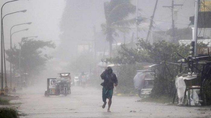 Ilustrasi cuaca akibat fenomena La Nina