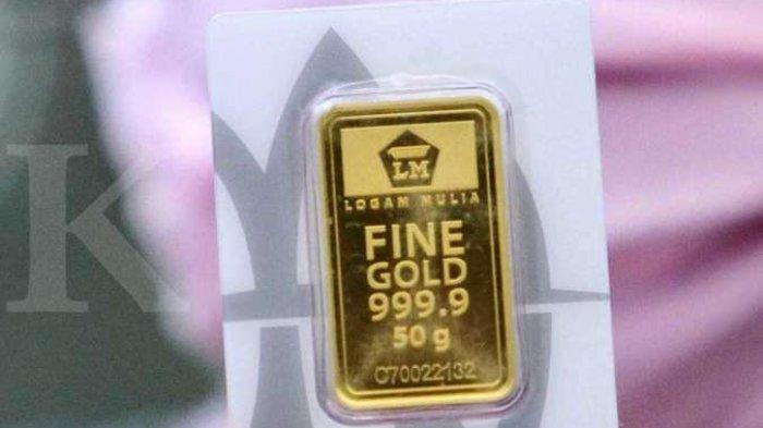 Harga Emas Antam Hari Ini Turun Rp 2 000 Menjadi Rp 969 000 Per Gramnya Harga Jual Kembali Emas Tribun Timur