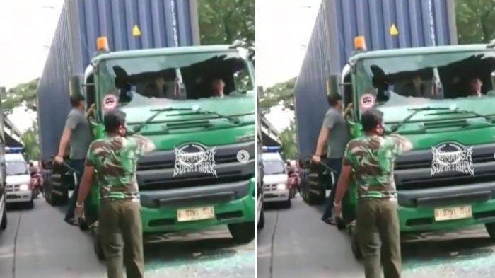 Misteri Sosok Driver Pajero yang Aniaya Sopir Kontainer di Jakut, Polisi Diminta Usut Cepat