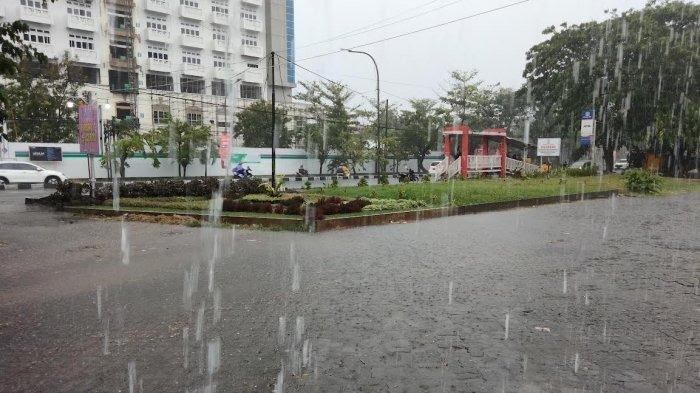 Termasuk Makassar, Berikut Daerah di Sulsel Berpotensi Hujan Sore Ini