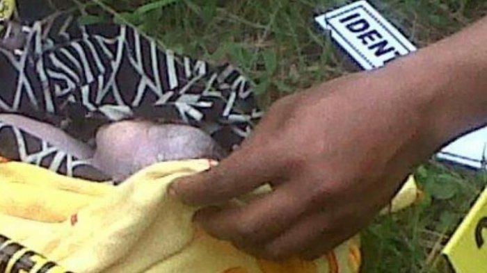 BREAKING NEWS; Mayat Bayi Ditemukan di Pinggir Sungai Teppoe Bone
