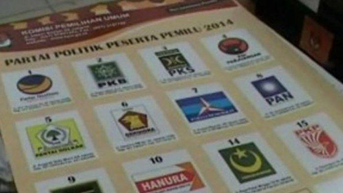 Hasil Real Count Suara Partai di KPU, PDIP No 1, Golkar-Gerindra, PKB Salip Nasdem, PKS Geser PAN