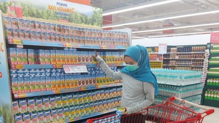 Minyak Goreng 2 Liter Rp 30.900 di Lotte Mart