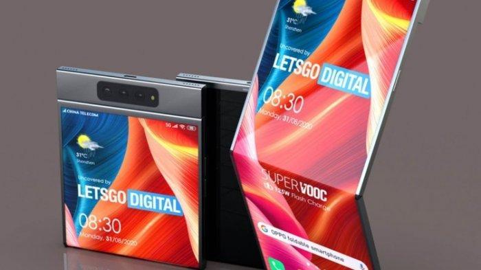 HP Lipat OPPO Saingan Samsung Galaxy Flip Diwacanakan Bakal Hadir Dalam Waktu Dekat