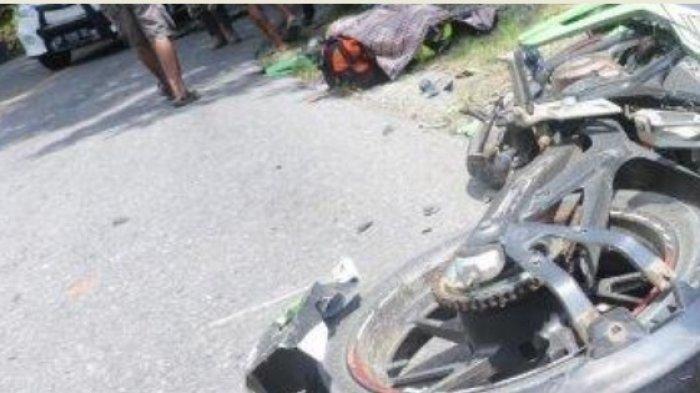 BREAKING NEWS: Tabrakan Maut Tewaskan 2 Pemotor di Desa Lare-lare Luwu