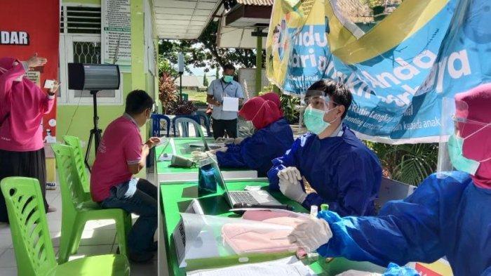 485 Warga Binaan dan Pegawai Lapas Polewali Diusulkan Dapat Vaksinasi