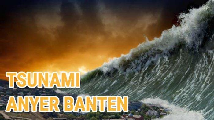 Tsunami di Selat Sunda Diduga Dipicu Erupsi Gunung Anak Krakatau