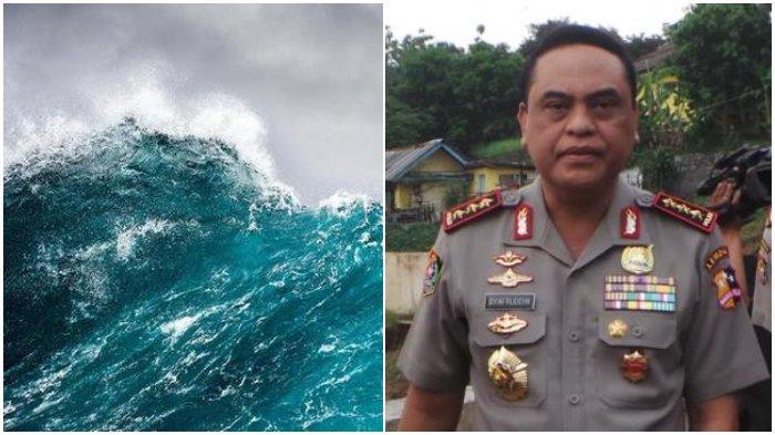 Mengenang Gempa Bumi dan Tsunami di Majene 1969, Komisaris Jenderal (Purn) Syafruddin Terseret Arus
