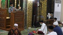 FOTO: Imam Masjid New York Amerika Ceramah di Masjid Nurul Mu'jizat Panakkukang