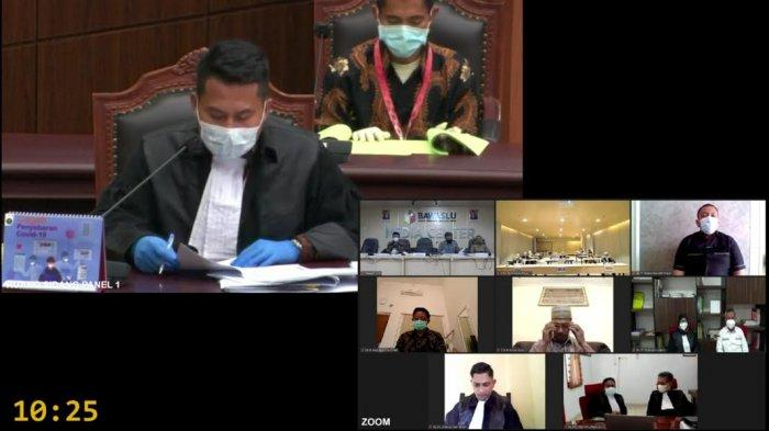 Sidang Pemeriksaan, KPU Lutim Jawab Dalil IBAS-RIO hingga Mohon Eksepsi Diterima MK