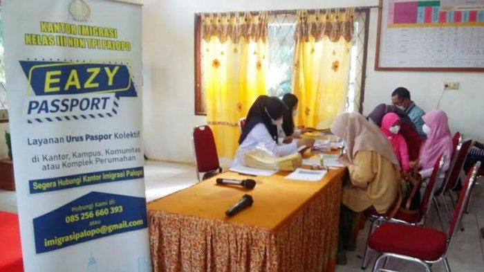 Imigrasi Palopo Buka Pelayanan Paspor di Kantor Camat Nuha