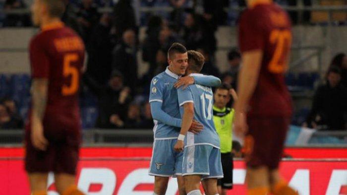 Lazio Bekuk AS Roma 2-0