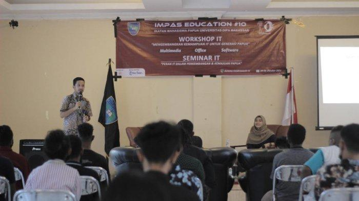 IMPAS DIPA Gelar Workshop Dan Seminar IT di Asrama Papua