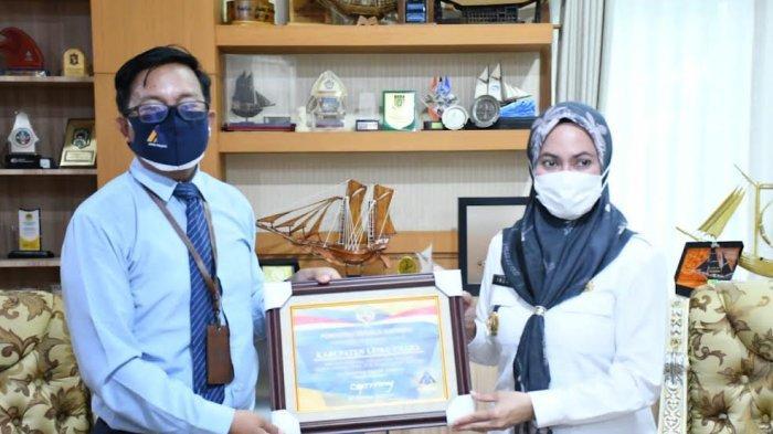 Raih WTP LKPD, Pemkab Luwu Utara Terima Penghargaan dari Menteri Keuangan