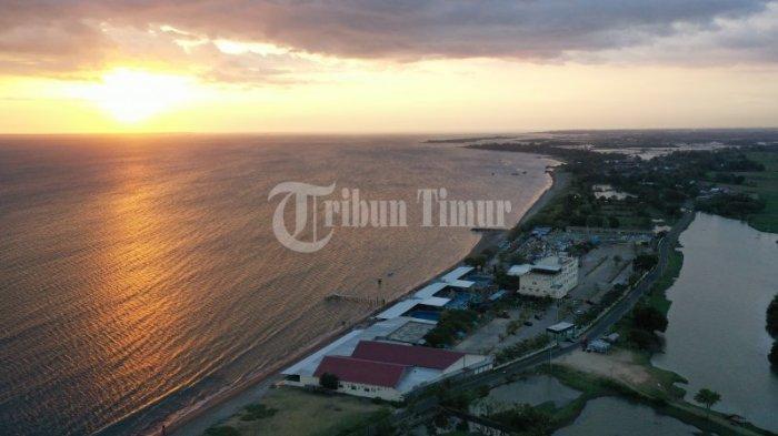 Berkunjung ke Takalar, Nikmati Panorama Sunset di Pantai Topejawa