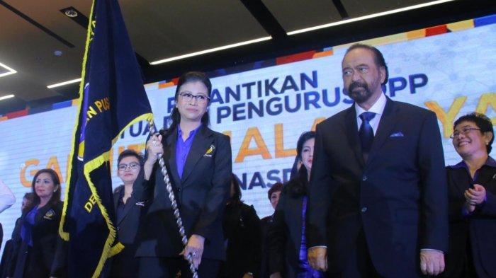 Pimpin DPP Garnita Malahayati Nasdem, Thita Dilantik di Kampung Halamannya
