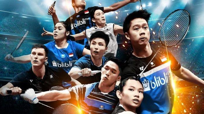 Indonesia Open 2019 Mulai Bergulir Besok, Ini Hasil Drawing Lengkap Pemain Indonesia Babak Pertama