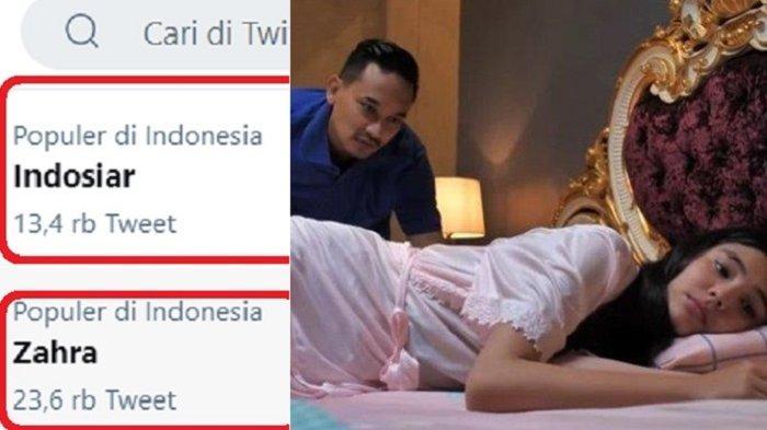 Indosiar Trending Twitter Imbas Adegan 'Ranjang' Zahra Suara Hari Istri, Disebut Masih di Bawah Umur