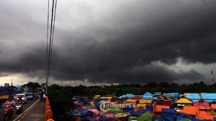 Peringatan Dini Cuaca Ekstrem dari BMKG, Kamis 18 Juni 2020: Hujan Lebat dan Angin Kencang