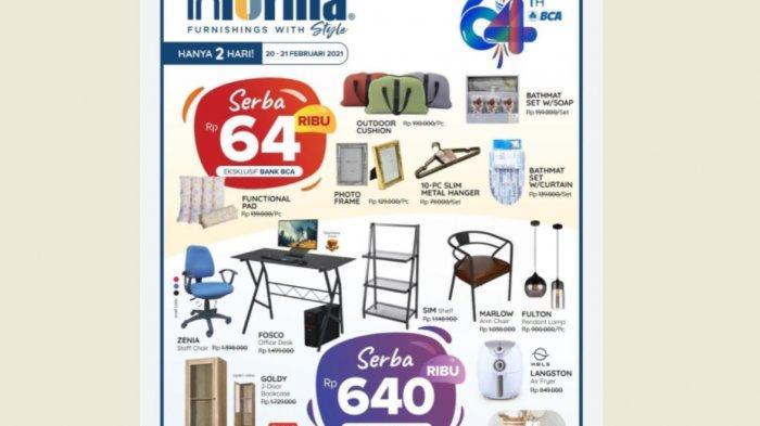 Informa Promo Serba 64 di HUT BCA