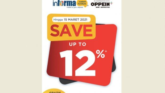 Informa Sale Up To 12 Persen 15 Februari Hingga 14 Maret 2021