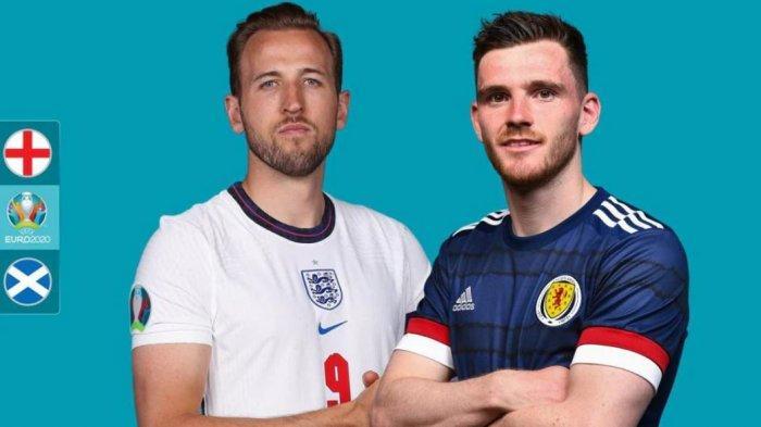 Preview Pertandingan EURO Inggris vs Skotlandia, Duel Musuh Lama di Tanah Britania