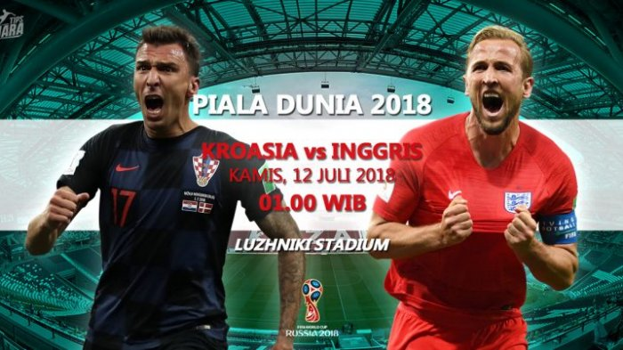 LIVE TRANS TV! Nonton Live Streaming Inggris vs Kroasia di Aplikasi HP Full HD