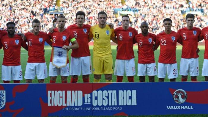 Piala Dunia 2018: Cegah Strategi Bocor, Timnas Inggris Pasang Tirai Raksasa