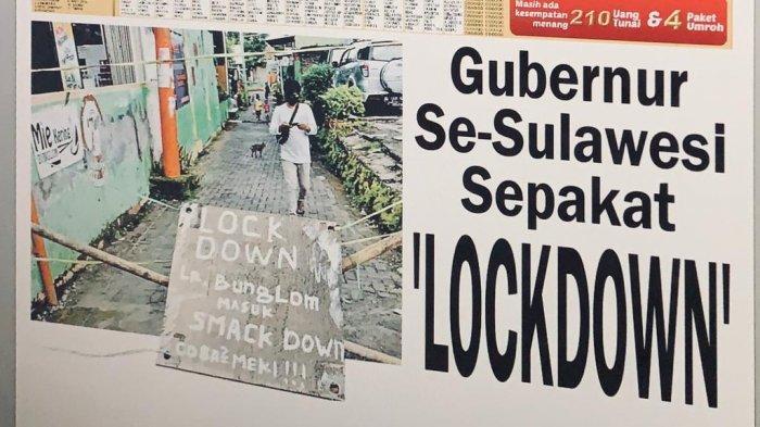 Ini 9 Poin Kesepakatan 6 Gubernur di Sulawesi terkait Isolasi Terbatas Wilayah Cegah Corona