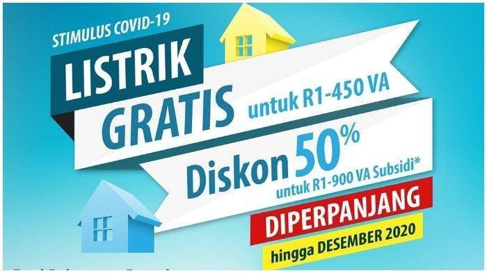 Dapatkan Token Listrik Gratis PLN Bulan November 2020 di www.pln.co.id atau WhatsApp ke 08122123123