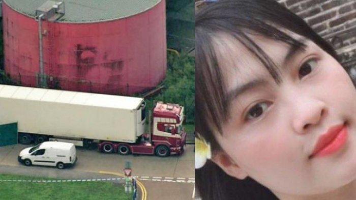 Bunyi Pesan Terakhir Gadis Vietnam, 1 dari 39 Mayat Tewas Membeku dalam Truk Kontainer di Inggris
