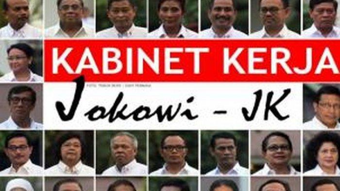 Begini Isi Surat Nama Calon Menteri Jokowi yang Bocor, Semua Partai Dapat Jatah, Kop Jokowi-Ma'ruf
