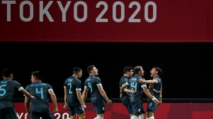 Skor 0-0, Sedang Berlangsung Live Streaming Spanyol vs Argentina, Laga Hidup Mati Tim Tango