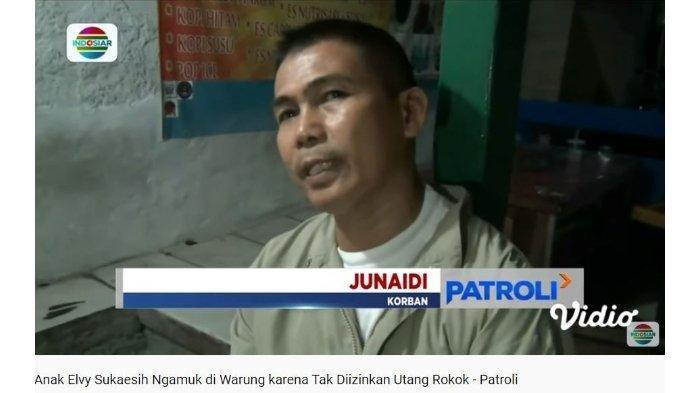 Bringasnya Haedar Putra Elvy Sukaesih Ngamuk Ditolak Utang Rokok Samurai Hampir Tebas Pemilik, Video