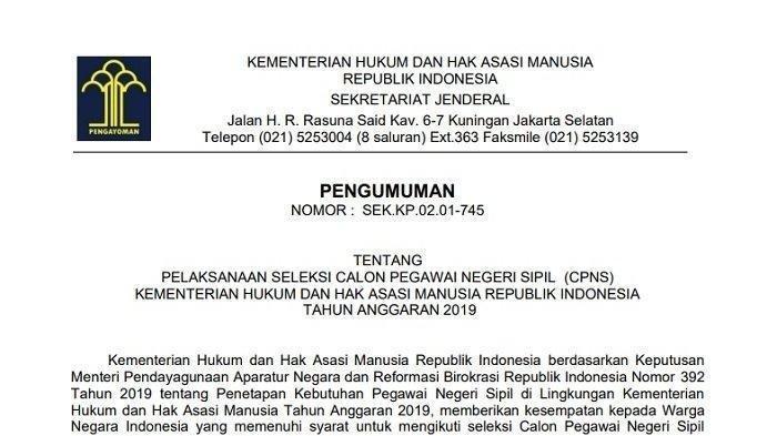 34++ Daftar formasi cpns 2021 untuk lulusan sma ppdb 2021