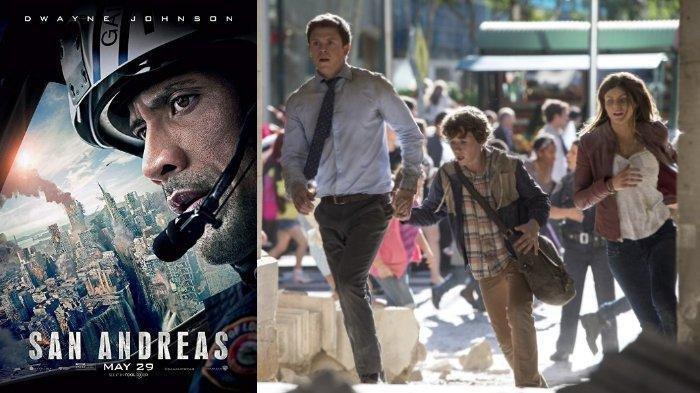Sinopsis dan Trailer San Andreas, Film Bencana Gempa dan Tsunami, Malam Ini di Bioskop Trans TV