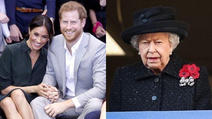 Inikah Alasan Pangeran Harry dan Meghan Markle Mundur dari Kerajaan Inggris? Foto Tak Dipajang Ratu