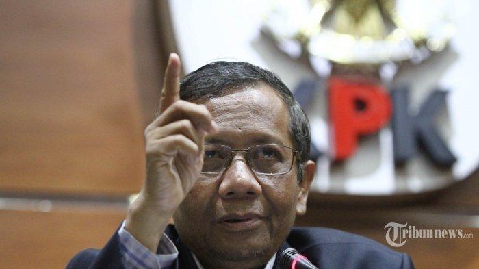 Ultimatum Mahfud MD untuk Mahkamah Konstitusi, 'Jangan Mau Diintervensi, Jangan Sudi Diteror'