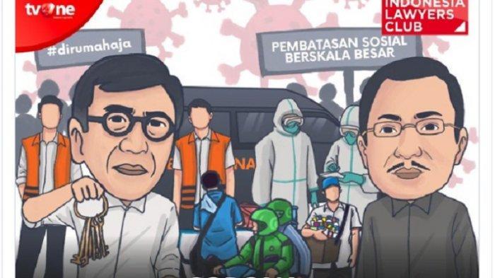 Topik ILC TV One Inilah Masalah Besar Corona Selain Kematian; Remisi 30 Ribu Napi Hingga PHK Massal