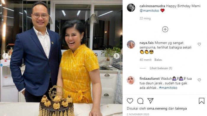 Instagram Calvino Samudra Pria Muda yang Foto Bareng Desiree Tarigan Ibunda Bams Banjir Komentar