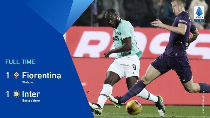 Update Hasil & Klasemen Liga Italia - Fiorentina Buyarkan Kemenangan Inter Milan, Juventus ke Puncak