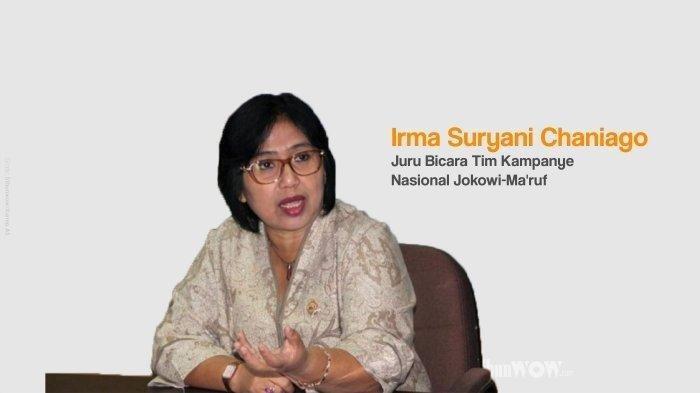 Kabar Buruk Irma Suryani Chaniago, Sibuk Urus 01 Jokowi Pilpres Begini Nasibnya di Pemilu DPR RI