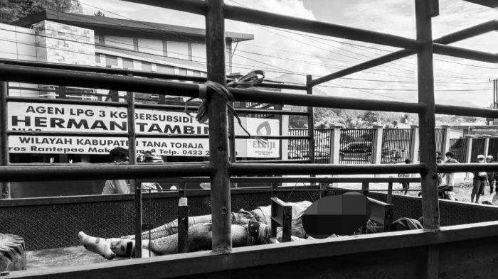 Kronologi IRT Tewas Kecelakaan Setelah Tabrakan dengan Turk Elpiji di Rantelemo Tana Toraja