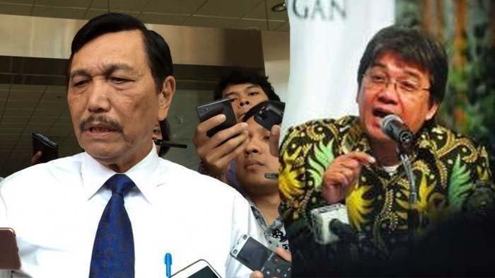 Isi Chat Beredar di Grup WhatsApp Denny JA Minta Jabatan Komisaris di BUMN ke Luhut, Klarifikasinya