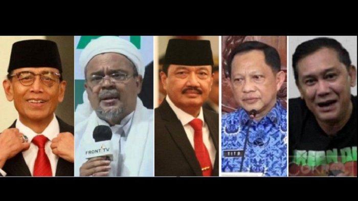 Minta Bebas, Ini Pembelaan HRS Kasus RS Bogor & Daftar Nama Disebut Jenderal hingga Denny Siregar