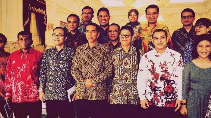 Pengurus Iskindo diterima Presiden Joko Widodo di Istana Negara, 3 Juli 2015. Iskindo kini mempersiapkan Kongres III di Kepri