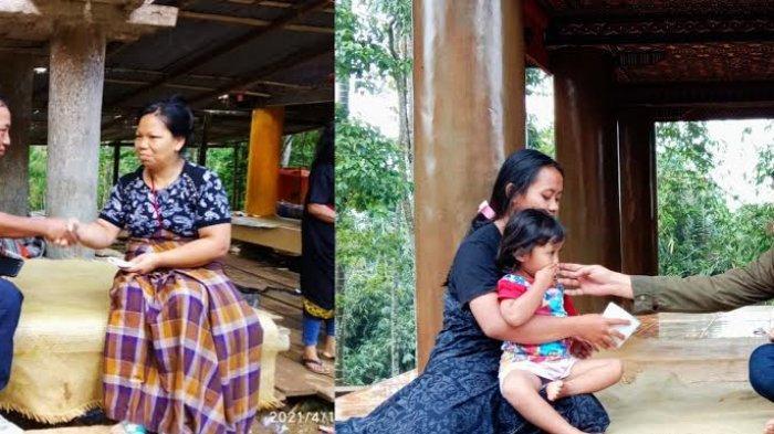 Plt Gubernur Sulsel Beri Santunan ke Keluarga Korban KKB di Toraja