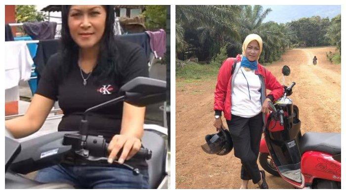 Foto Istri Muda Yosef Kendarai Motor NMAX Jadi Perbincangan Warga Subang, ini Kata Polisi