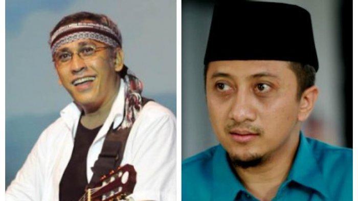 Ustadz Yusuf Mansur dan Iwan Fals Bandingkan Foto Kampanye Akbar 01 & 02, Begini Reaksi Keduanya