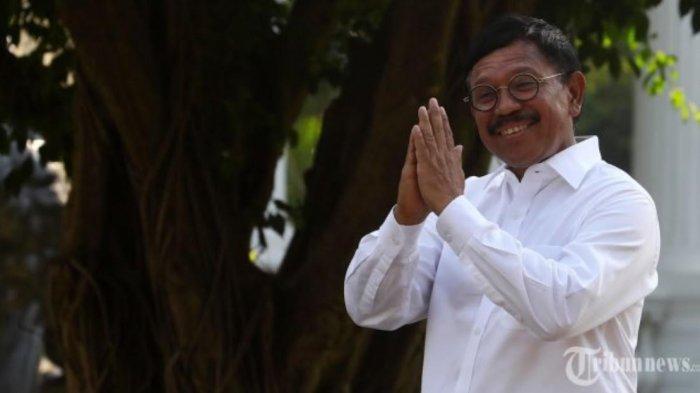 Jadi Menkominfo Kabinet jokowi-Maruf Amin, Rekam Jejak Putra Manggarai NTT Johnny G Plate